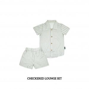 CHECKERED Lounge Wear Set
