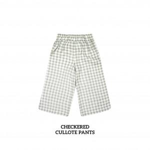 CHECKERED Cullote Pants