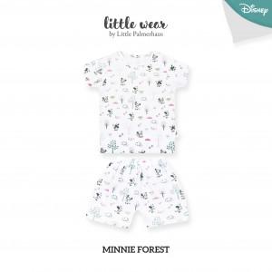 MINNIE FOREST Little Wear Shoulder Button Short Sleeve