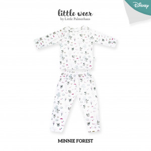 MICKEY FOREST Little Wear Shoulder Button Short Sleeve