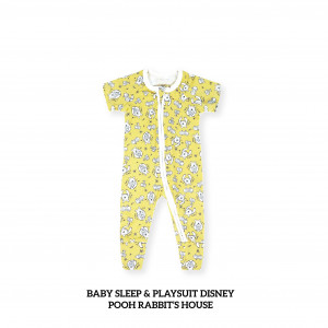POOH RABBIT'S HOUSE Baby Sleep & Play Suit