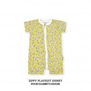 POOH RABBIT'S HOUSE Zippy Playsuit Disney