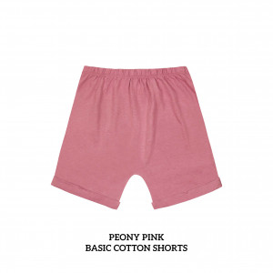 PEONY PINK Basic Cotton Short
