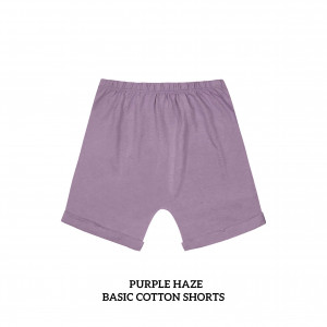 PURPLE HAZE Basic Cotton Short