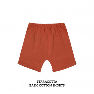 TERRACOTA Basic Cotton Short