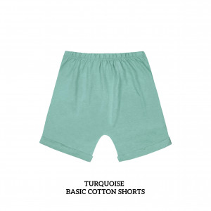 TURQUOISE Basic Cotton Short