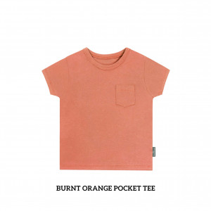 BURNT ORANGE Pocket Tee