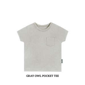 GRAY OWL Pocket Tee