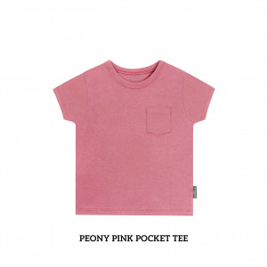 PEONY PINK Pocket Tee
