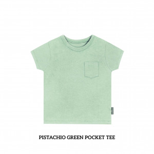 PISTACHIO GREEN Pocket Tee