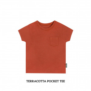 TERRACOTA Pocket Tee