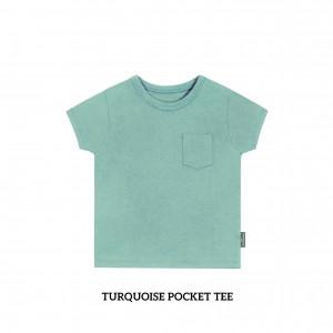 TURQUOISE Pocket Tee