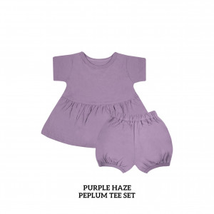 PURPLE HAZE Peplum Set