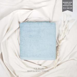 Ice Blue Bam & Boo Bamboo Towel (Big Size)