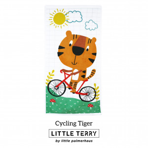 CYCLING TIGER LITTLE TERRY TOWEL