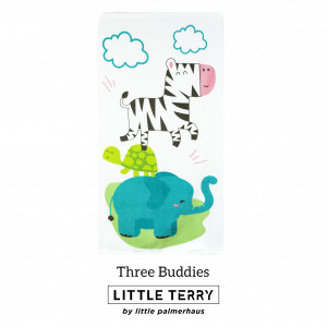 THREE BUDDIES LITTLE TERRY TOWEL