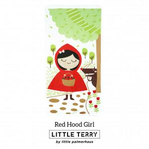 RED HOOD GIRL LITTLE TERRY TOWEL