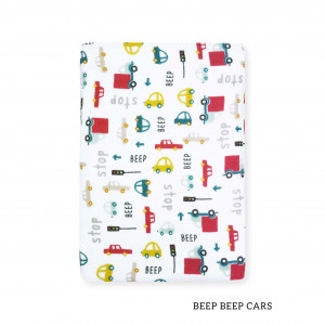 Beep Beep Cars Tottori Baby Towel
