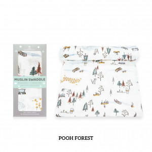 Pooh Forest Muslin Swaddle