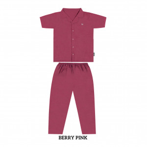 BERRY PINK MOMS PJS SET