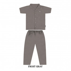 FROST GREY MOMS PJS SET