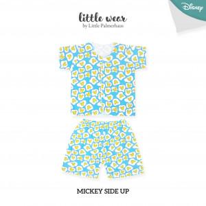 Mickey Side Up Little Wear Short Sleeve