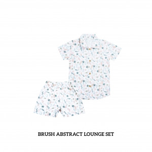 BRUSH ABSTRACT Lounge Wear Set