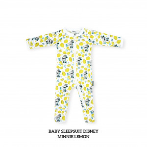 MINNIE LEMON Baby Sleepsuit Disney