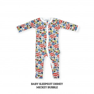 MICKEY BUBBLE Baby Sleepsuit Disney