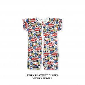 MICKEY BUBBLE Zippy Playsuit Disney