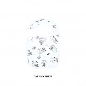 Dreamy Sheep Snappy Bib
