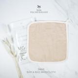 Bam & Boo Bamboo Washcloth Set Of 4 Sand
