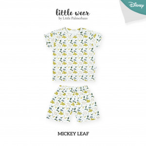 MICKEY LEAF Little Wear Shoulder Button Short Sleeve