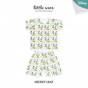 Mickey Leaf Little Wear Short Sleeve