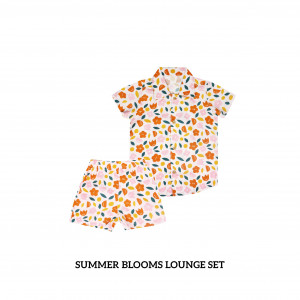 SUMMER BLOOMS Lounge Wear Set
