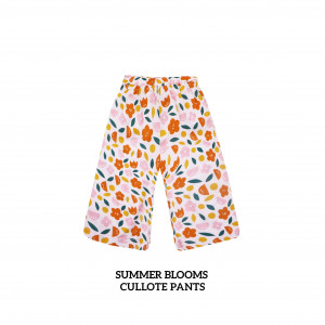 SUMMER BLOOMS Cullote Pants
