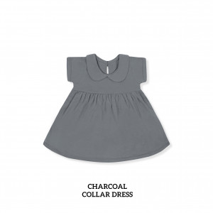 CHARCOAL Collar Dress