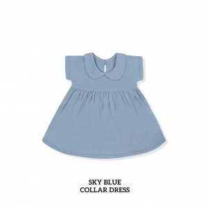 SKY BLUE Collar Dress