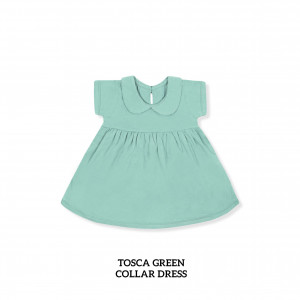 TOSCA GREEN Collar Dress
