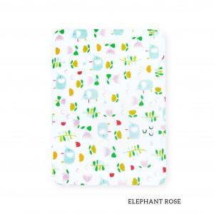 Elephant Flower Tottori Baby Towel