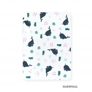 Narwhal Tottori Baby Towel