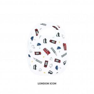 London Icon Snappy Bib