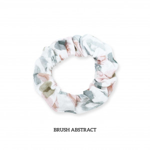 BRUSH ABSTRACT Scrunchie