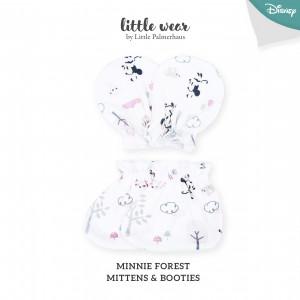 MINNIE FOREST Mittens & Booties
