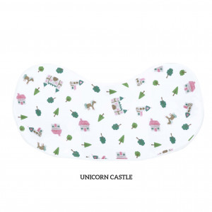 Unicorn Castle Burp & Bib