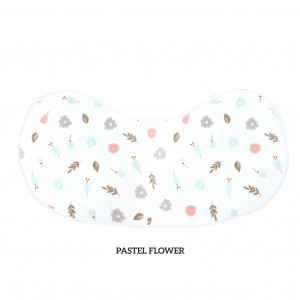 Paster Flower Burp & Bib