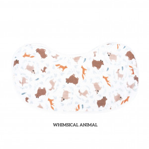 Whimsical Animals Burp & Bib