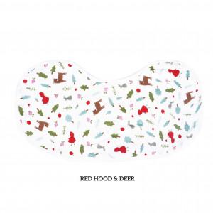 Red Hood And Deer Burp & Bib