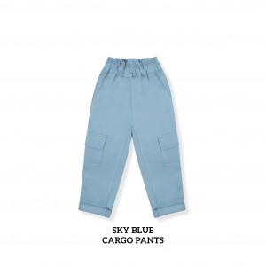 SKY BLUE Cargo Pants