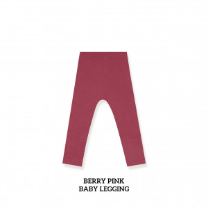 BERRY PINK Baby Legging
